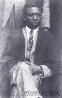 Sir Udo Udoma as a student in Dublin. Source: NM, Calabar
