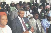 The foundation stone laying ceremony of the ALSCON Plant on November 20th, 1990 was witnessed by thousands of people, Nigerians and non-Nigerians alike