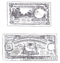 West African banknotes. (Source: Eyo, 1990:104)