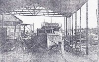 The Opobo Boatyards before...