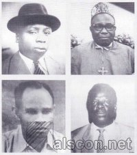 PHOTOGRAPHS: Dr. Udo Udoma William E. Ufot Harry Ekanem Dennis Udo-lnyang